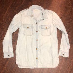 CURRENT ELLIOT Women's Casual Shirt Sz 2